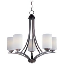Bainsby 5-Light Shaded Chandelier