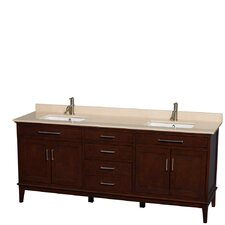 Hatton 80 Double Bathroom Vanity Set by Wyndham Collection