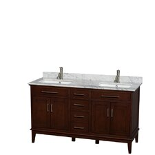 Hatton 60 Double Bathroom Vanity Set by Wyndham Collection