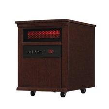 5,200 BTU Portable Electric Fan Cabinet Heater