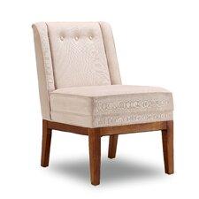 Velvet Upholstery Parsons Chair