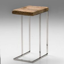 Galghard Reclaimed Pine Wood End Table by Union Rustic
