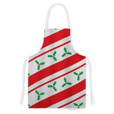 Holiday Holly Christmas Holiday Artistic Apron