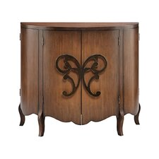 Gilmore 4 Door Demilune Accent Cabinet by Astoria Grand