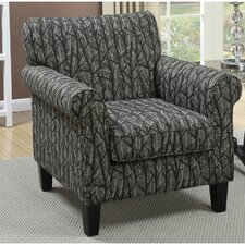 Valentine Rolled Club Chair by Infini Furnishings