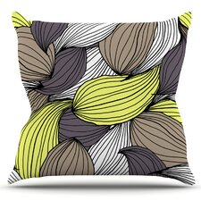 Wild Brush by Gabriela Fuente Outdoor Throw Pillow by East Urban Home
