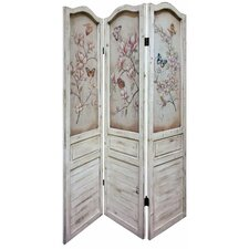 180cm x 134cm 3-Piece Room Divider