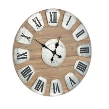 Oversized 71cm Round Wall Clock