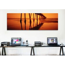 'Hermosa Beach Pier, Hermosa Beach, California' Photographic Print on Wrapped Canvas