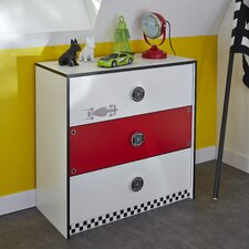 Rocket Chest of Drawers with 3 Drawers