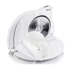 Compact Food Slicer in White
