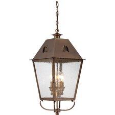 Meriline 4-Light Outdoor Hanging Lantern
