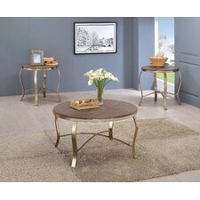 Dray 3 Piece Coffee Table Set by House of Hampton