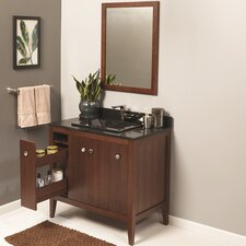 Sophie 36 Single Bathroom Vanity Set with Mirror by Ronbow