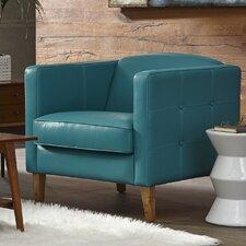 Miami Armchair by Lazzaro Leather