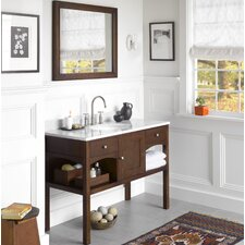 Langley 48 Single Bathroom Vanity Set with Mirror by Ronbow