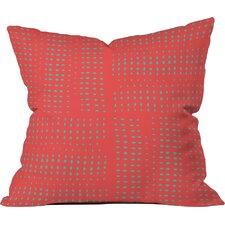 Summer Porch Polyester Throw Pillow