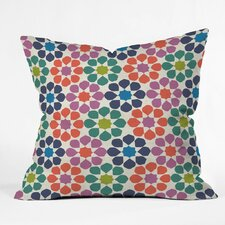 Sunny Day Tile Polyester Throw Pillow