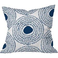Circles Ii Outdoor Throw Pillow