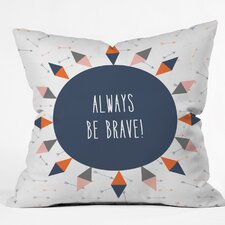 Hello Twiggs Throw Pillow by East Urban Home