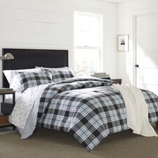 Lewis Plaid 2 Piece Comforter Set