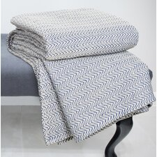 Chevron 100% Cotton Blanket