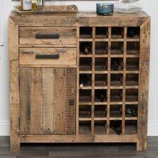 Norman 28 Bottle Floor Wine Cabinet
