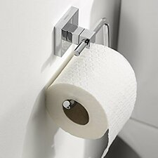 Mezzo Wall Mounted Toilet Roll Holder in Chrome