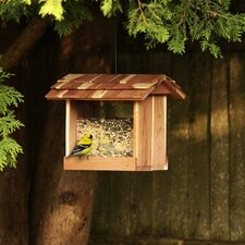 Cedar Hopper Bird Feeder