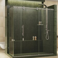 Enigma Fully Frameless 72.5 x 36 x 79 Rectangle Sliding Shower Enclosure by DreamLine