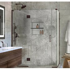 Unidoor-X 59 x 34.38 x 72 Rectangle Hinged Shower Enclosure by DreamLine