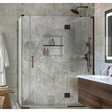 Unidoor-X 58 x 34.38 x 72 Rectangle Hinged Shower Enclosure by DreamLine
