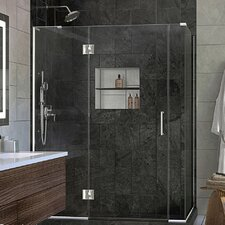 Unidoor-X 58.5 x 34.38 x 72 Rectangle Hinged Shower Enclosure by DreamLine