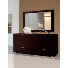 Enter Rectangular Dresser Mirror