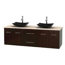 Centra 72 Double Bathroom Vanity by Wyndham Collection