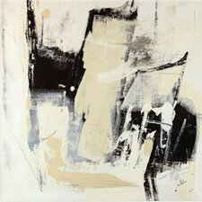 'Pieces I' by Julian Spencer Painting Print on Wrapped Canvas