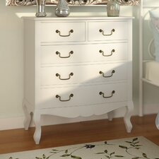 Lemaire 5 Drawer Chest of Drawers
