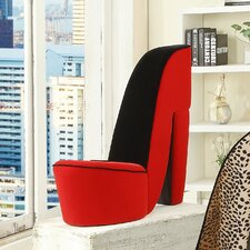 Carlyle High Heel Side Chair by Zoomie Kids
