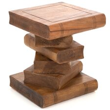 Bookstack Side Table