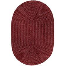 Handmade Red Wine Area Rug