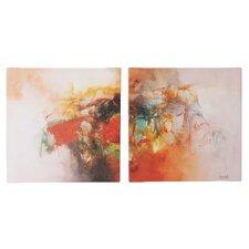 'Color Burst' Wall Art Set