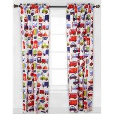 Transportation Rod Pocket Single Curtain Panel
