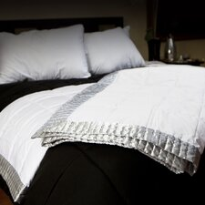 Geometric Shapes Satin Border Blanket