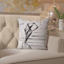 Tamera A Night in Paris Throw Pillow