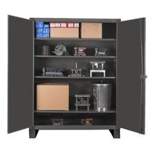 Extra Heavy Duty Welded 12 Gauge Steel Lockable Storage Cabinet