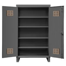 Extra Heavy Duty Welded 12 Gauge Steel Outdoor Shelf Cabinet