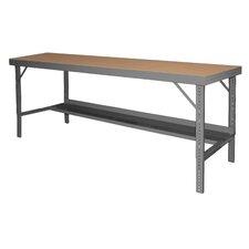 Ergonomic Folding Leg Style Adjustable Height Steel Top Workbench