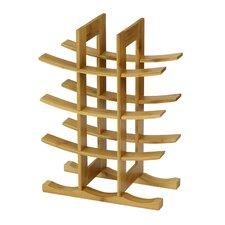 DaPur Bamboo 12-Bottle Tabletop Wine Rack