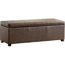Wendell Leather Storage Bedroom Bench by Hokku Designs