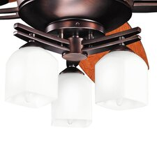 Brinbourne 3-Light Brached Ceiling Fan Light Kit